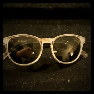 A.J. Morgan Clear Frame Sunglasses from ASOS.